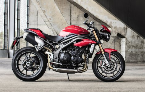 Triumph Speed Triple 2016 : châssis agile