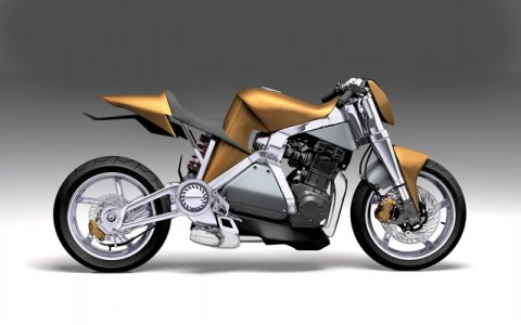Moto et énergie alternative : roto Caf-E