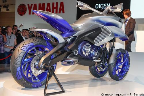 yamaha 01gen vers un t max 3 roues moto magazine. Black Bedroom Furniture Sets. Home Design Ideas