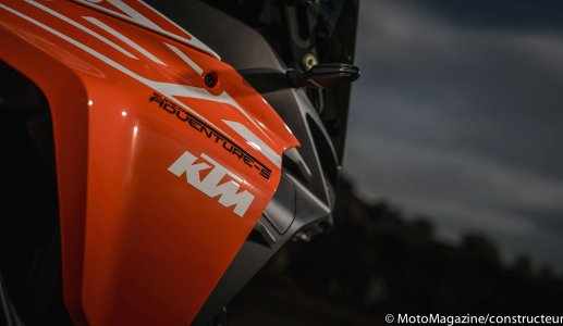 KTM Super Adventure 1290 S : beaucoup de plastique