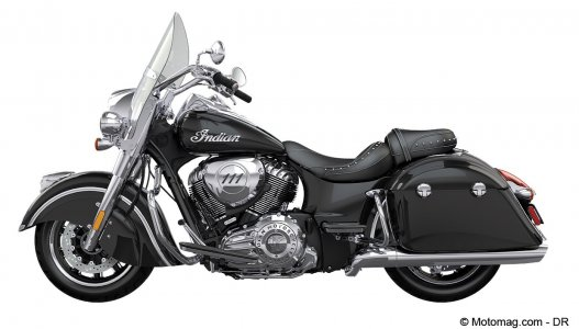 Indian Springfield : moteur Thunder Stroke 111