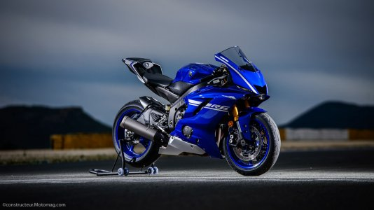 Yamaha YZF-R6 : design immuable