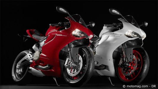 Ducati 899 Panigale (2014) : rouge ou blanche ?