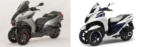 scooter 3 roues piaggio attaque ses concurrents en moto magazine leader de l. Black Bedroom Furniture Sets. Home Design Ideas