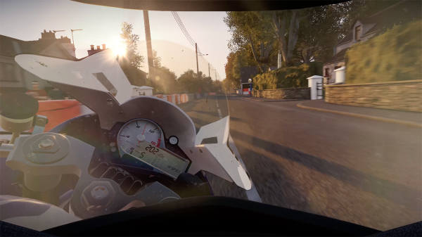 helmet view tourist trophy TT 2 isle of man ride on the edge game
