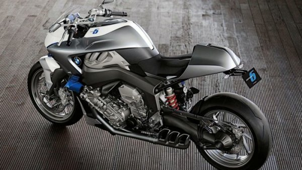 BMW Concept 6 cafe racer 6 cylindres {JPEG}