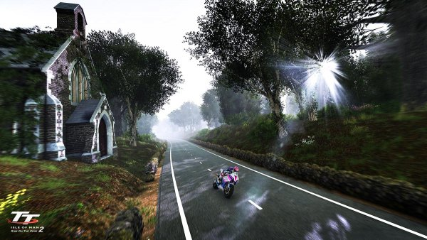 TT Isle of Man 2 - Ride on the Edge game snaefell mountain