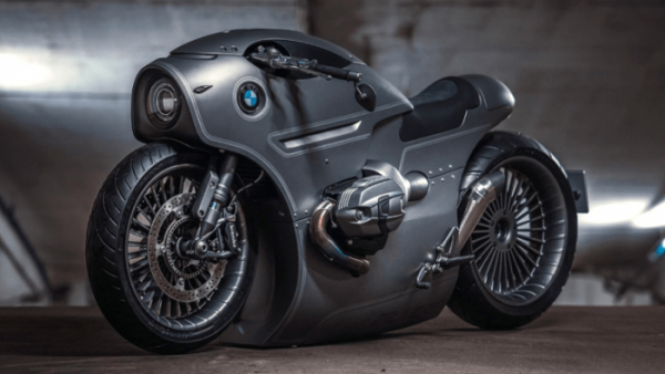 zillers garage prototype bmw cafe racer steampunk flat twin {PNG}