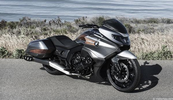 Concept 101 : BMW sortira aussi un bagger 6 cylindres ...