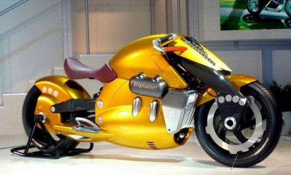 Ces concepts moto qui n'ont jamais vu le jour - partie 3 (2007 - 2017) Suzuki-biplane-2007-concept--5af27-34dda