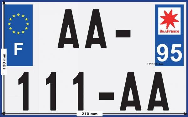 1er Juillet 2017: Uniformisation Plaque Immatriculation