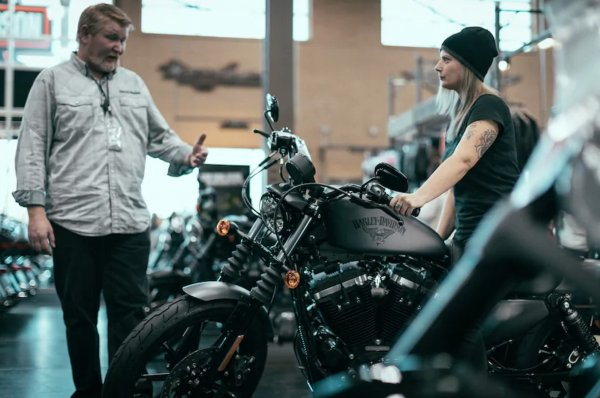 harley davidson concession USA motarde