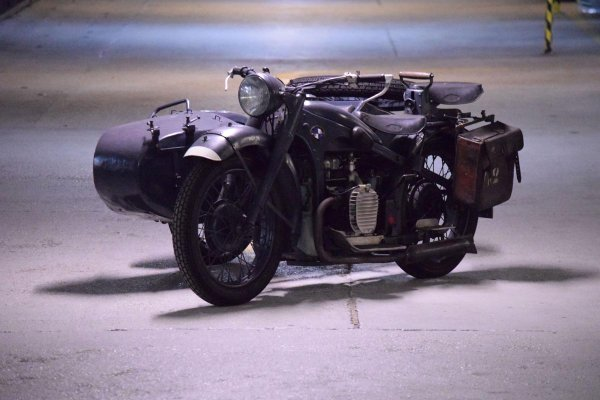 1939 bmw r12 side car moto collection
