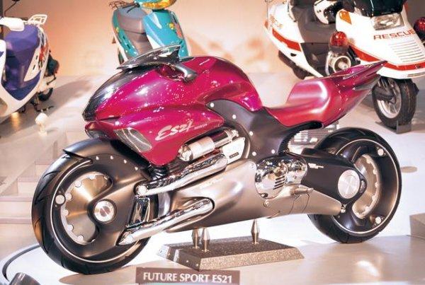 Ces concepts moto qui n'ont jamais vu le jour - partie 1 (1979 - 1995) Honda-es21-ebb68-80da9
