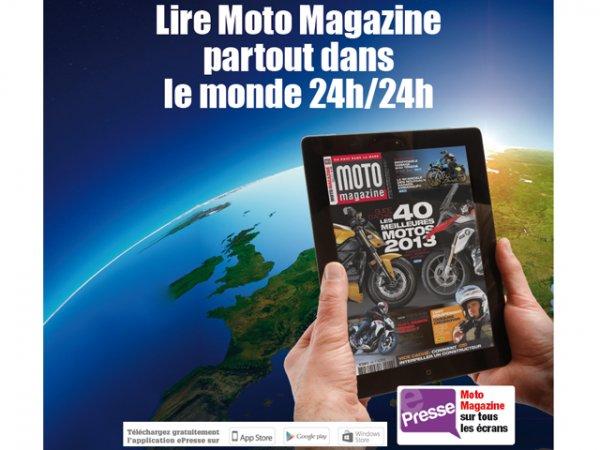 e presse moto magazine de mai 2013 consultable dans le moto magazine leader de l. Black Bedroom Furniture Sets. Home Design Ideas